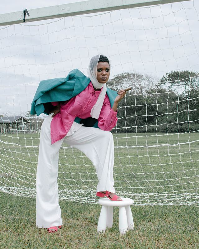 Check out our Q&A with Idayat Ibrahim (@deeofalltrades), the founder, stylist, and director for @vinclox. Find out how she got her start and her idea of community with the link in the bio.  Model: @india.elle of @kevlarroseagency  Photo: @qnbrnsn  #quaintrevolt #quaintrevoltmag #vinclox #kevlarrosemodels #kevlarroseagency #editorial #magazine #photography #art #model #fashion #style #inspiration #vintage #africandiaspora #diaspora #photosoftheday #mood #moodboard