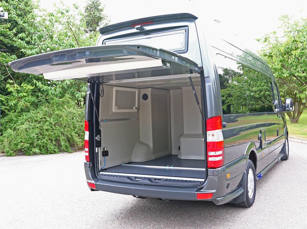 Explorer Sport rear up & over garage door
