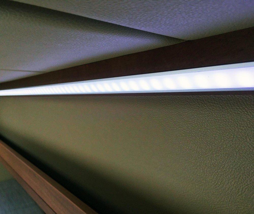 LED light detail