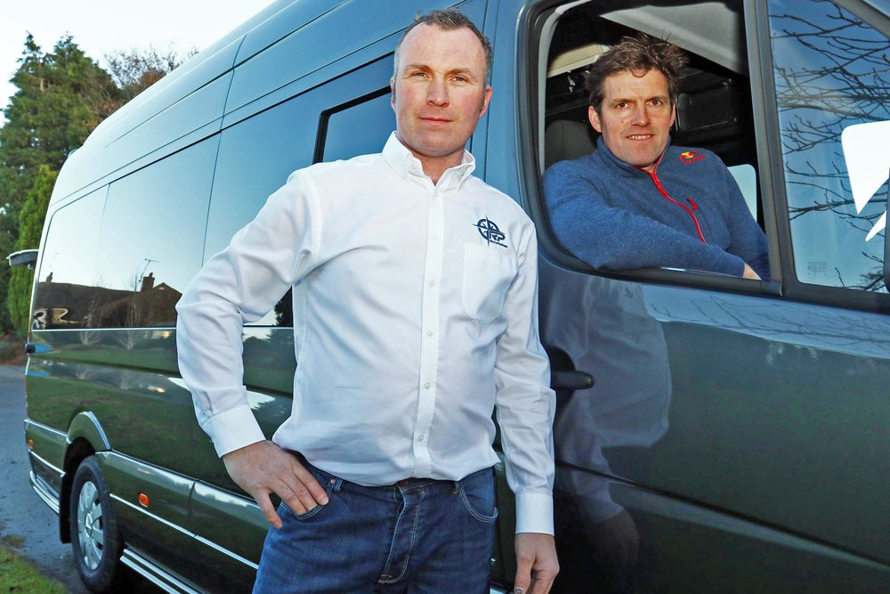 Dougie Lampkin MBE & RP Director Steve Young