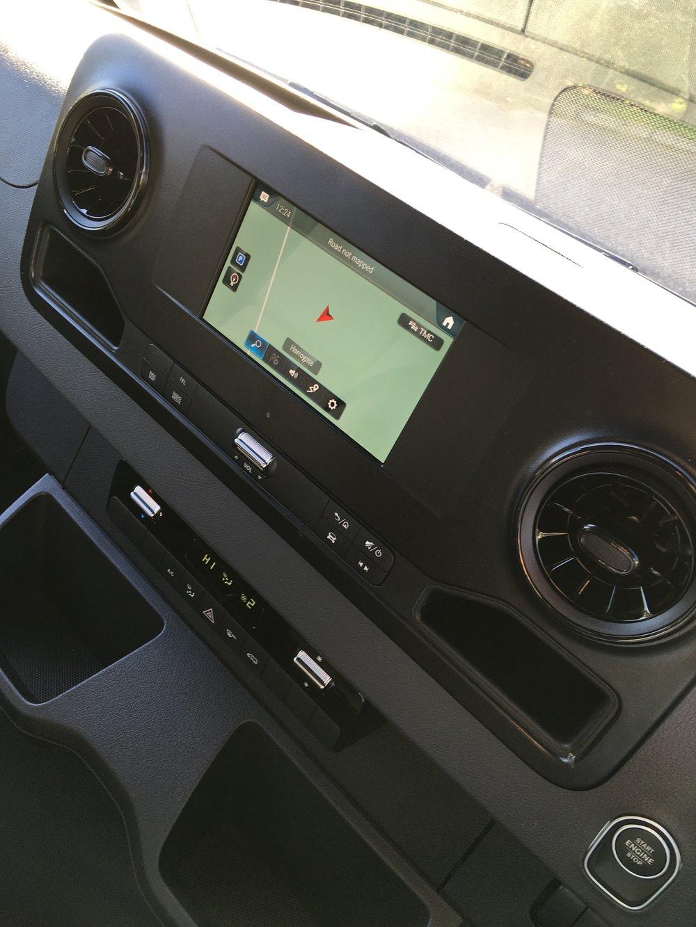 Mercedes-Benz MBUX system