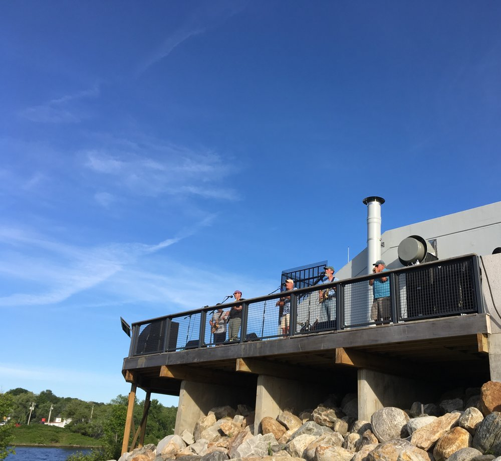 Spare Parts performing on the Gardiner Pump House Deck for The Great Race in June!