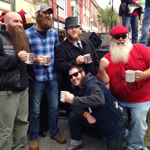 Past Beard and Mustache Competitors