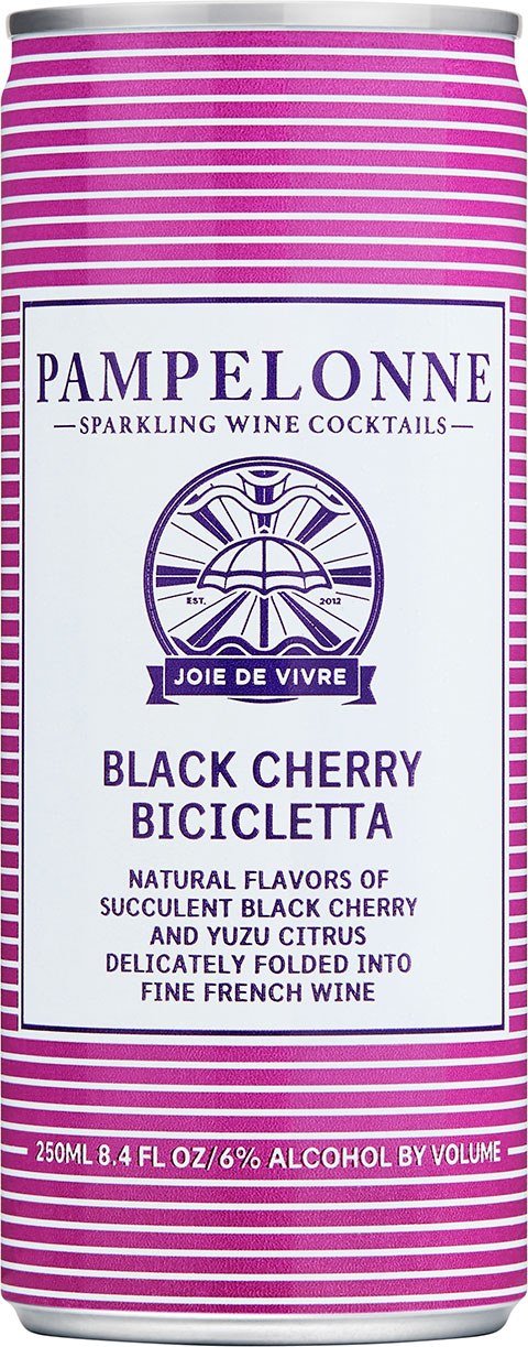 "<p id=""b75"">Black Cherry Bicicletta</p>Natural flavors of succulent black cherry and yuzu citrus delicately folded into fine french wine"