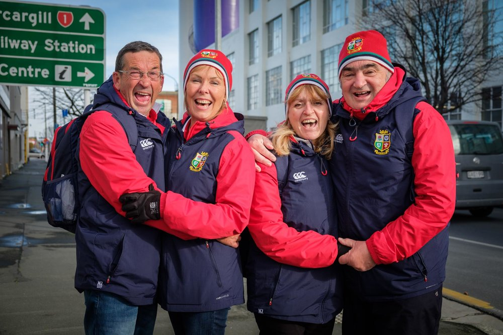 Event Photography Dunedin - Lions Tour Supporters