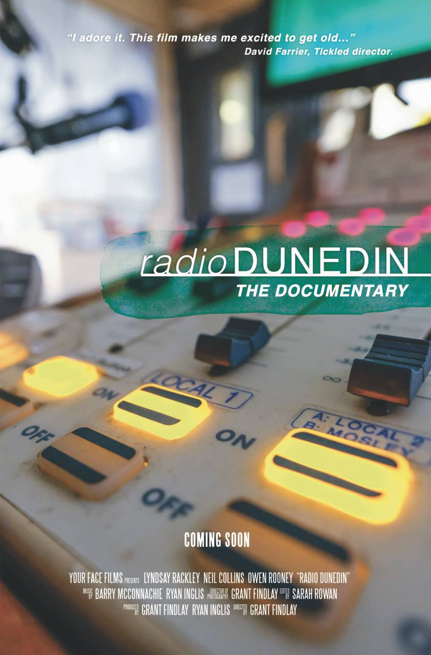 Movie poster for Radio Dunedin Documentary