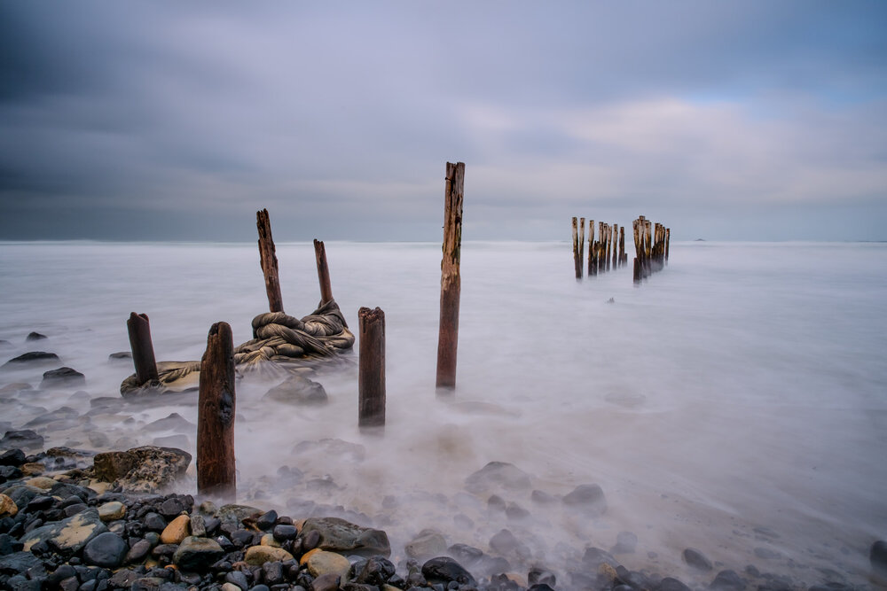 St Clair Beach Poles 2