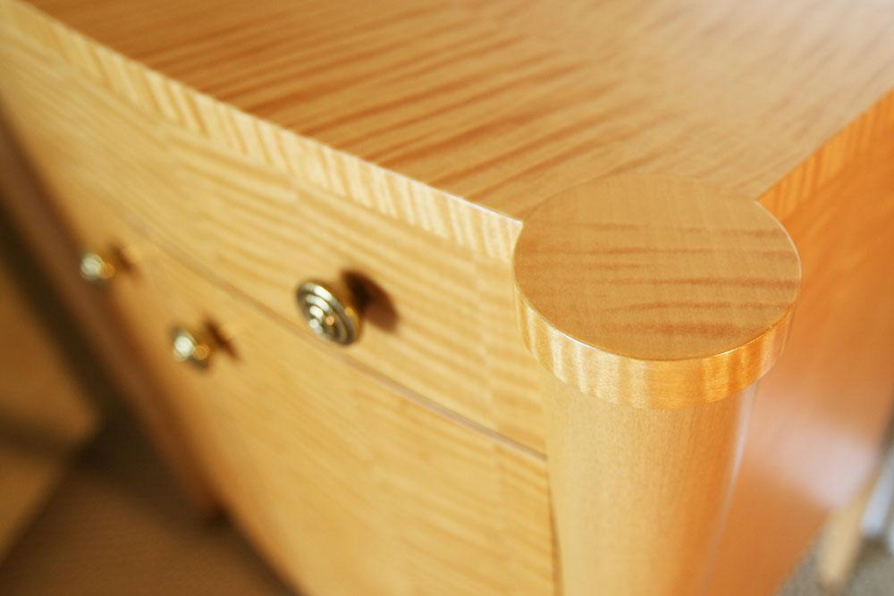 custom veneer cabinet