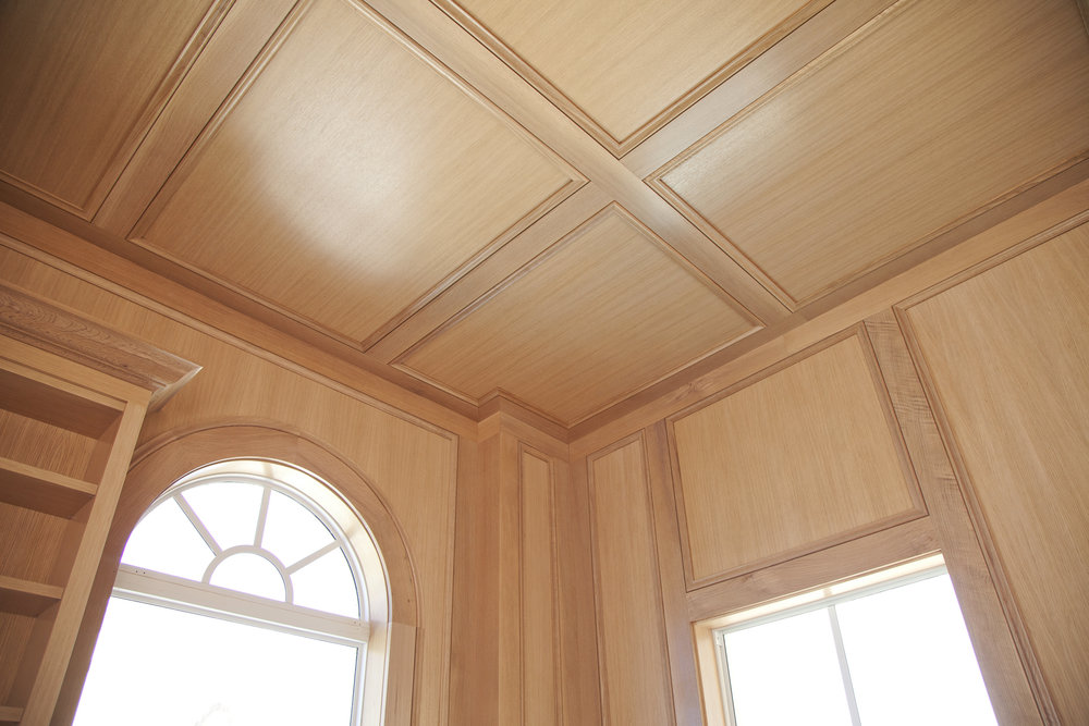 custom wood ceiling panels