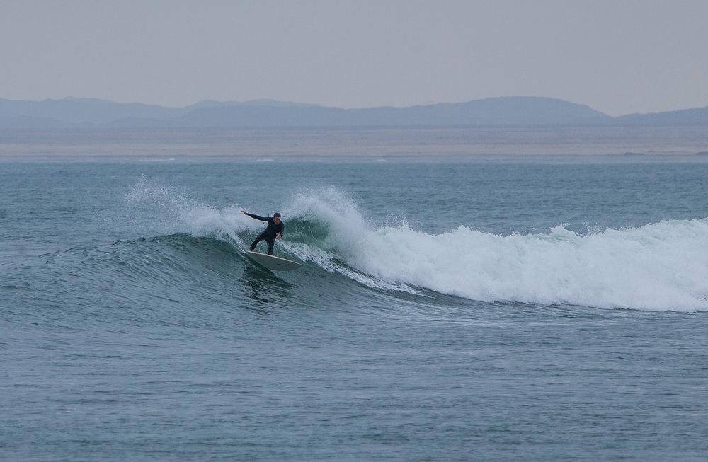 Dale Rieke Surfing