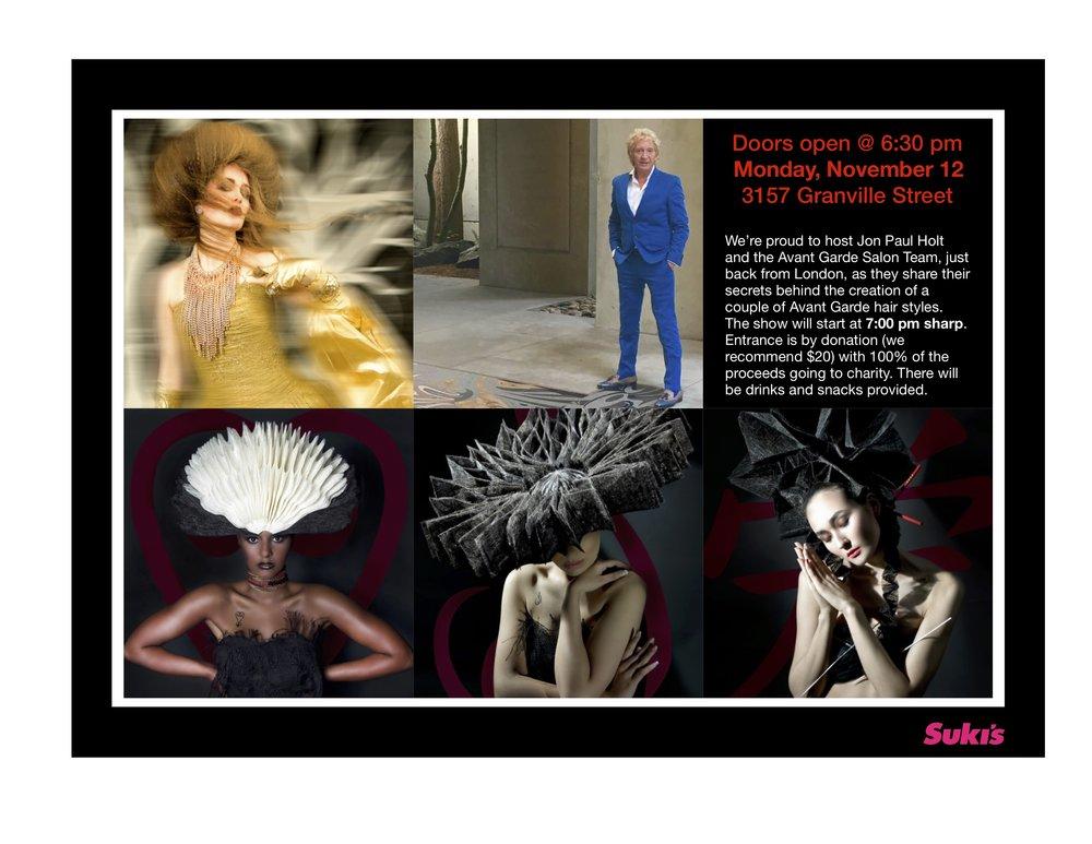 Suki's Socials | Jon Paul Holt | Avant Garde Salon | Suki's Salon