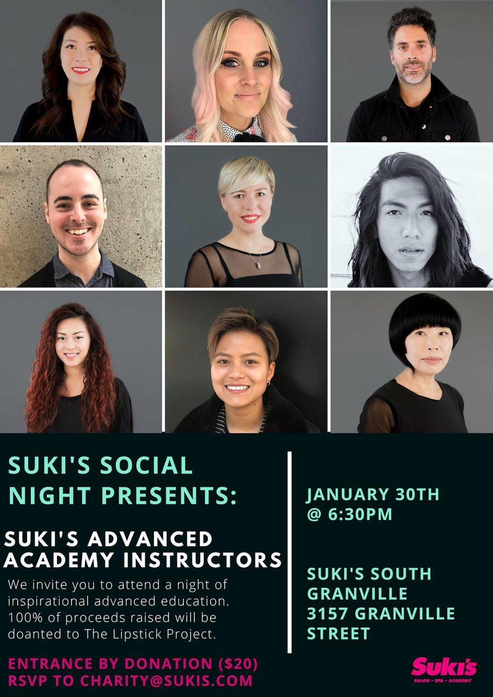 Suki's Socials | Suki's Academy | Suki's Vancouver