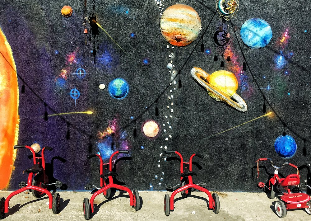 Cosmic Tricycle Ride