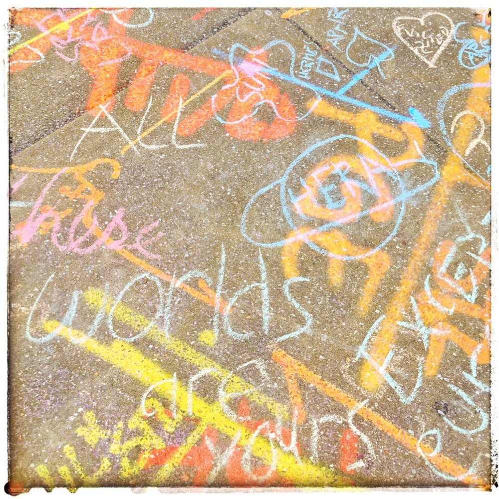 Sidewalk Hieroglyphics