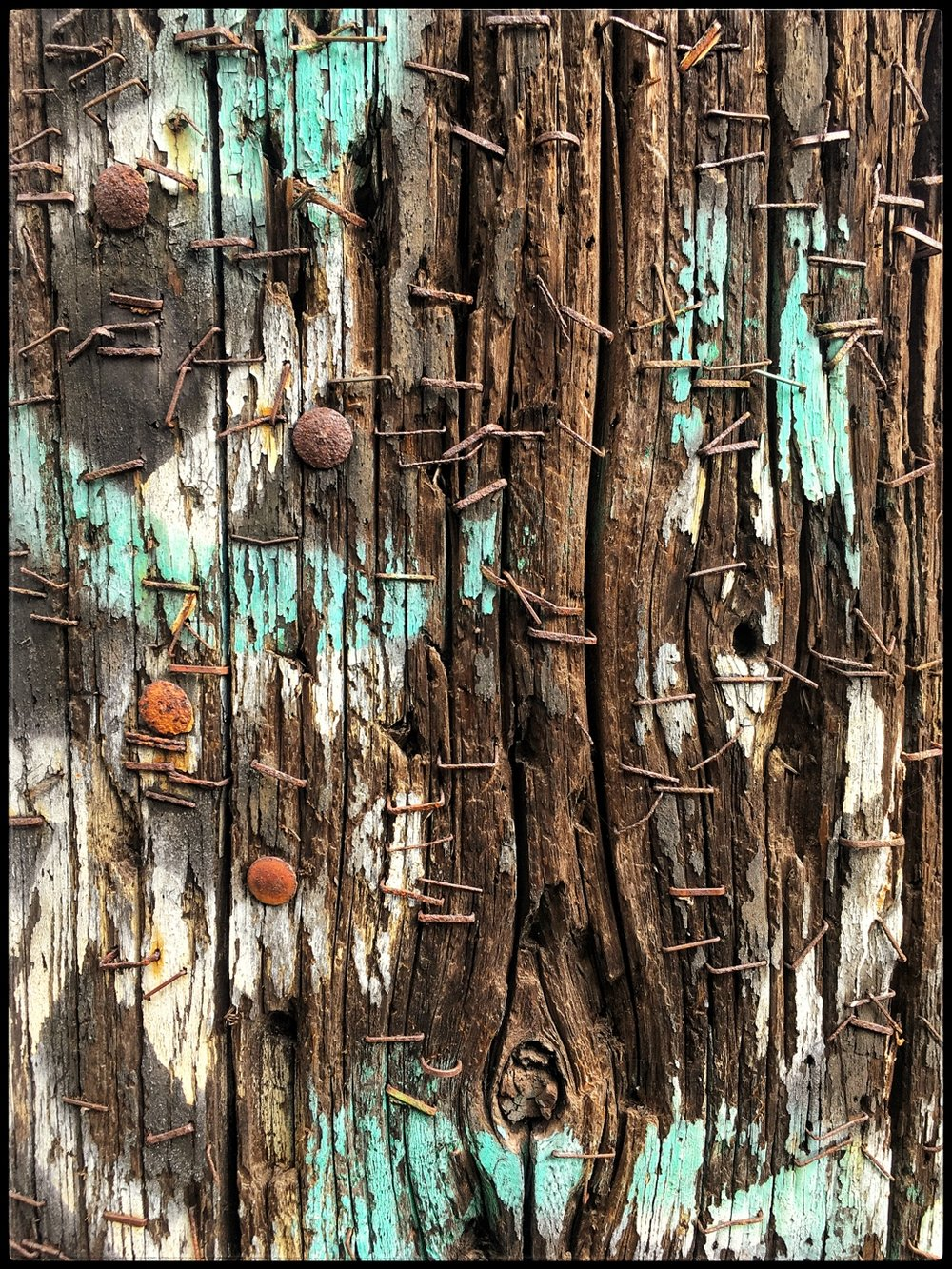 Telephone Pole Abstract