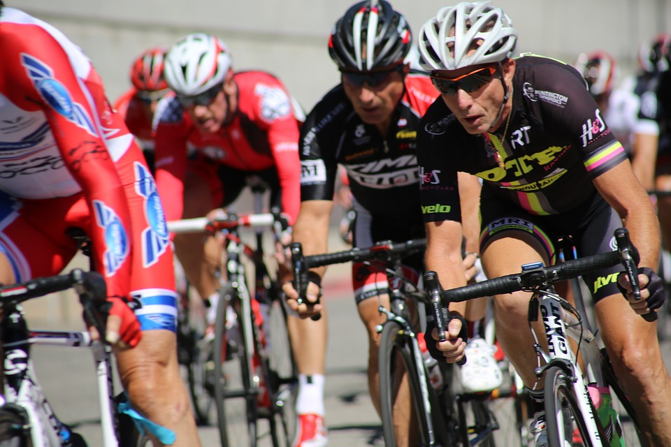 Racing, group rides, hills all provide for highly variable efforts.