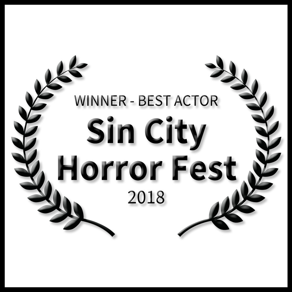 WINNER - Best Actor (Burt Grinstead) - Sin City Horror Festival in Las Vegas