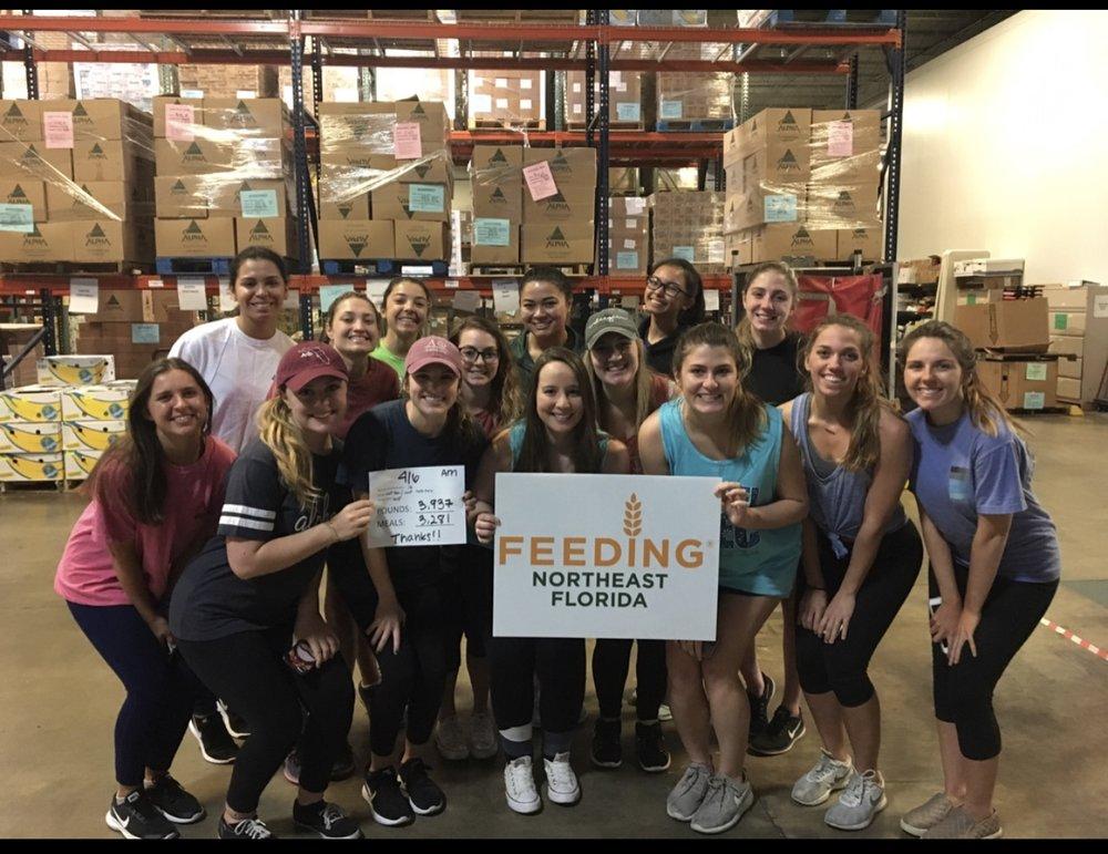 Feeding NorthEast Florida w/ UNF Nutrition - April 6, 2018
