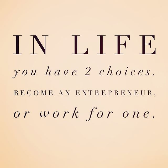 Which will you choose? #entrepreneur #entrepreneurlife