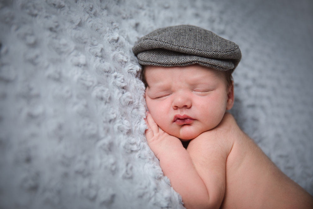 Newborn photography in studio, Herne Hill, London