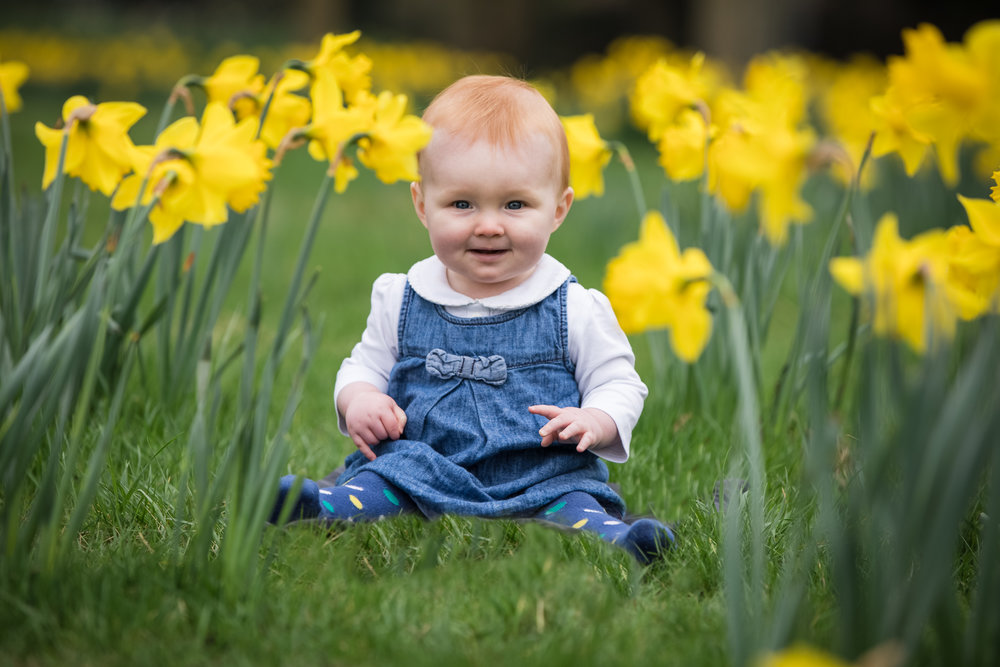 Baby photography at Brockwell Park, Herne Hill, London