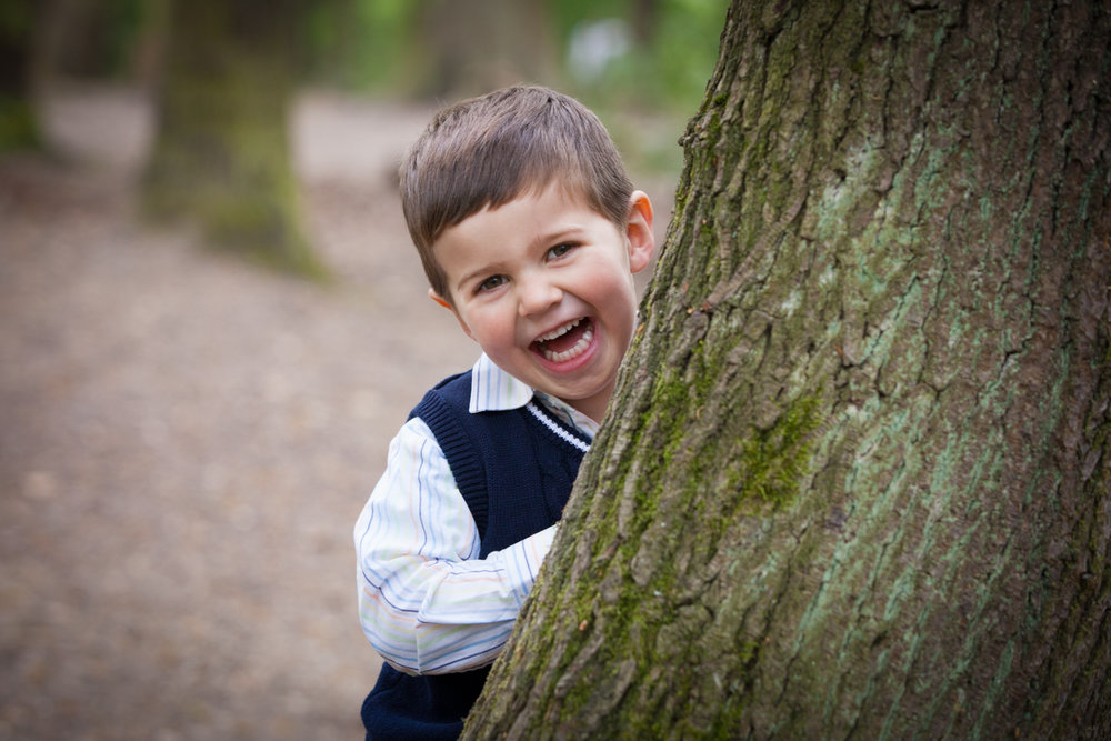 Children photography at Dulwich Woods, South London