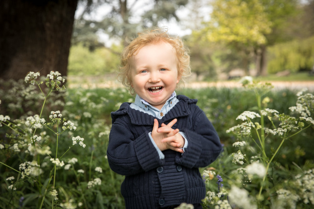 Children photography at Dulwich Park, London