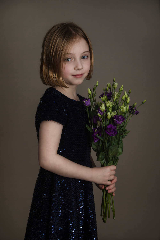 Children photography in studio, Herne Hill, London