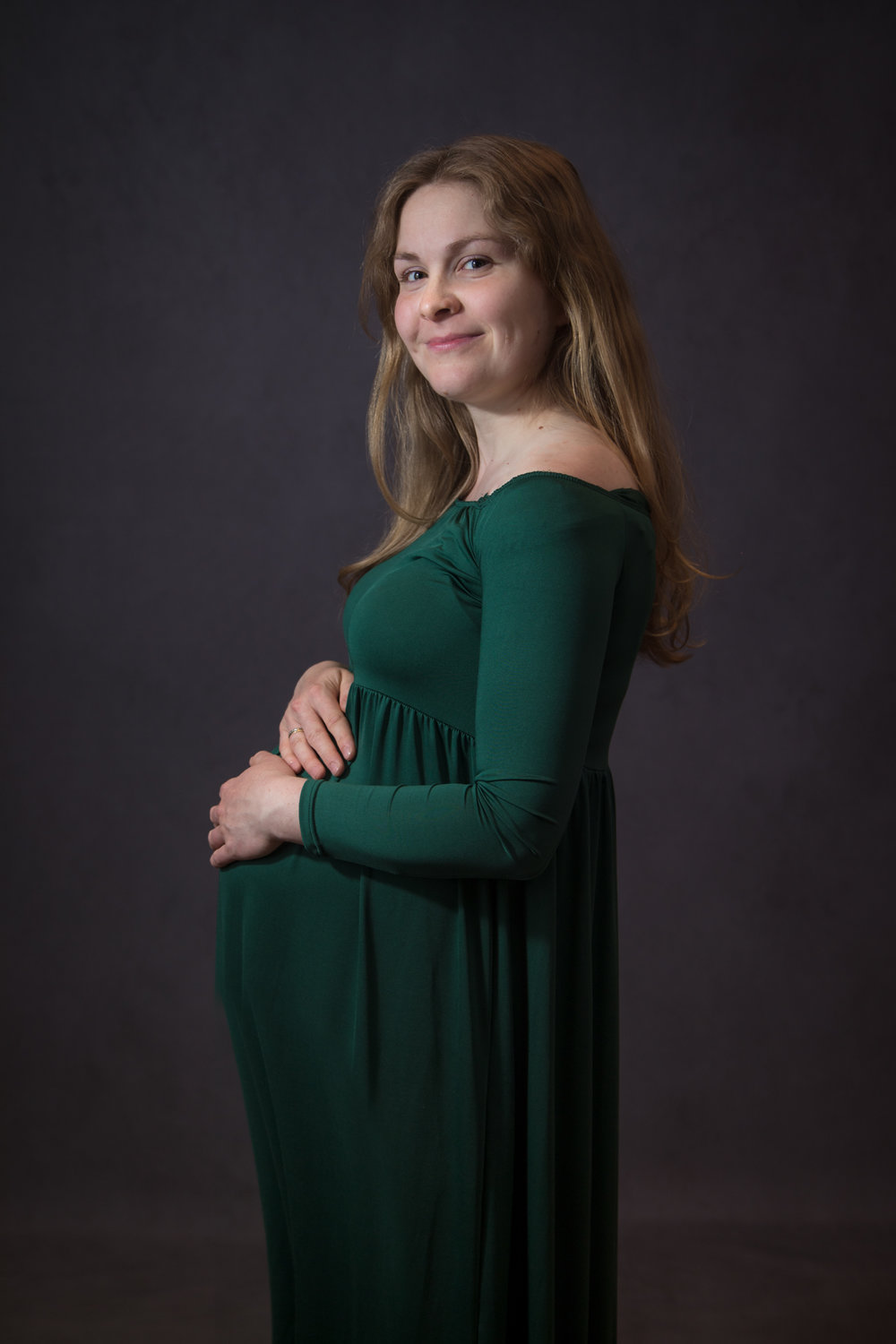 Maternity photography in studio, Herne Hill, London