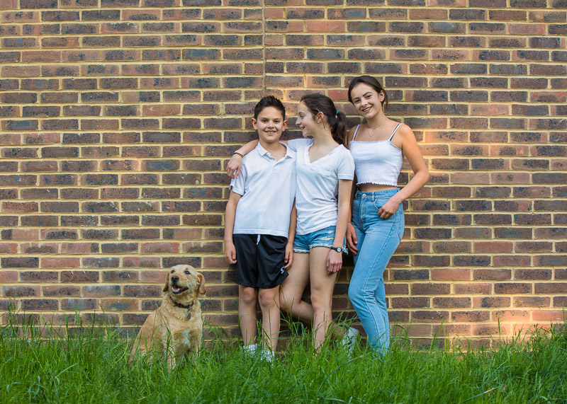 Family photography in Dulwich Park, London