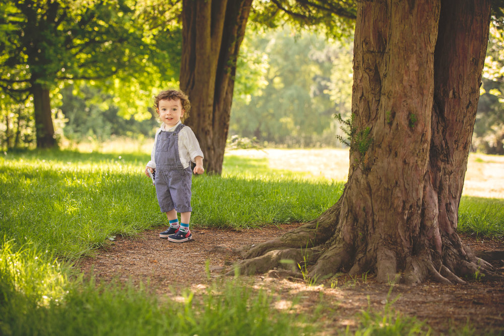 Children photography at Dulwich Park, South London
