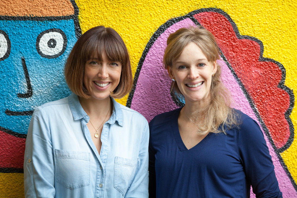 Lucy and Jenna, Author and Illustrator at Doodles & Scribbles