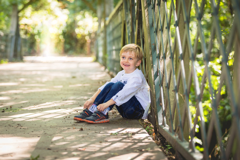 Children photography in Dulwich Woods