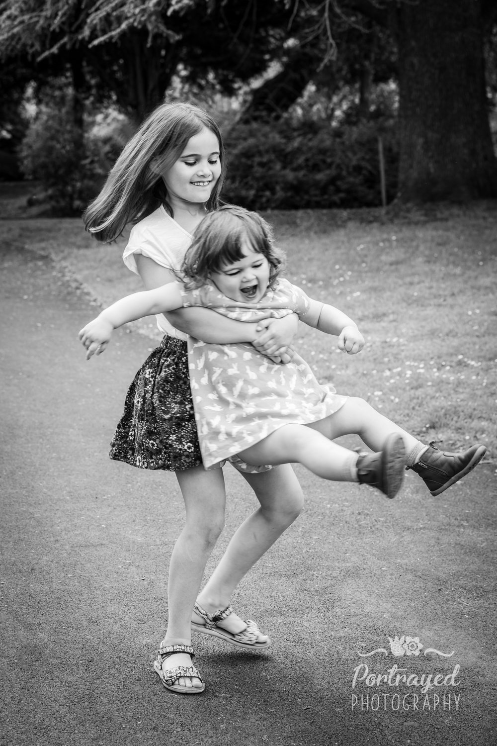 Children photography in Dulwich Park, London