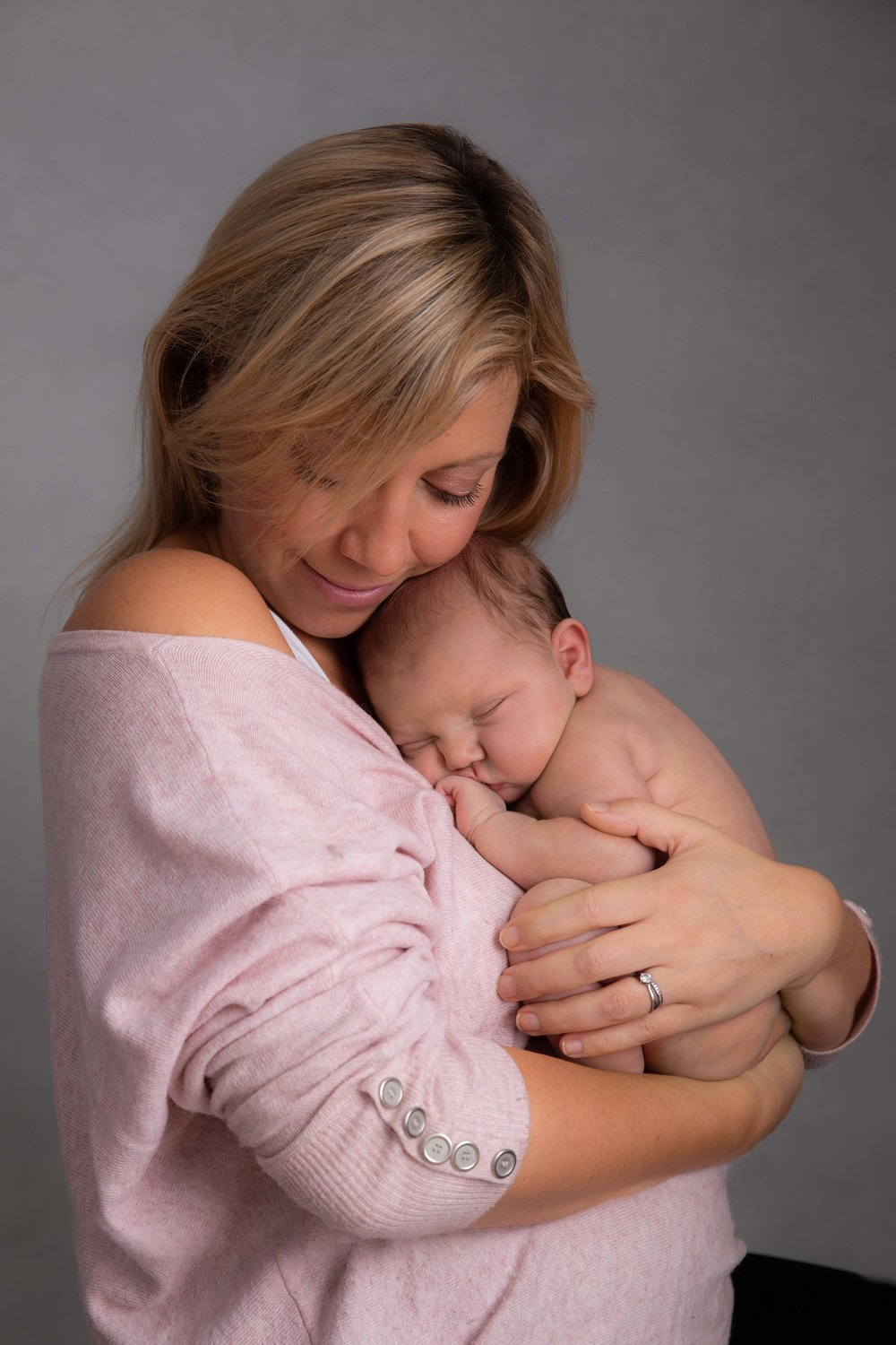 Baby and Mum photography in studio, Dulwich, London