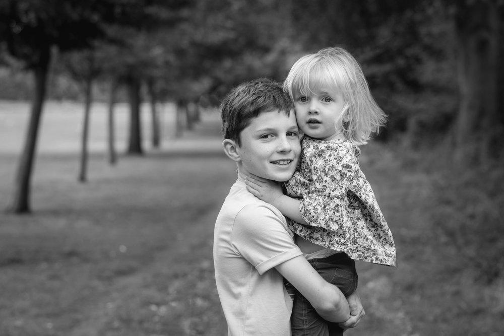Family photography, London