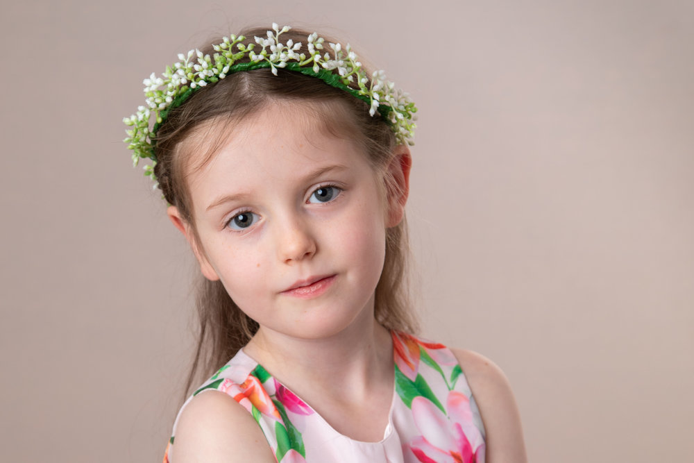 Children and family photography in studio, Herne Hill, South London