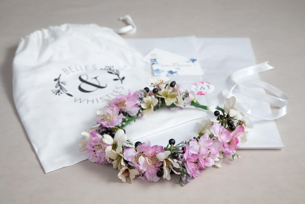 Product photography for East Dulwich based Belles & Whistles