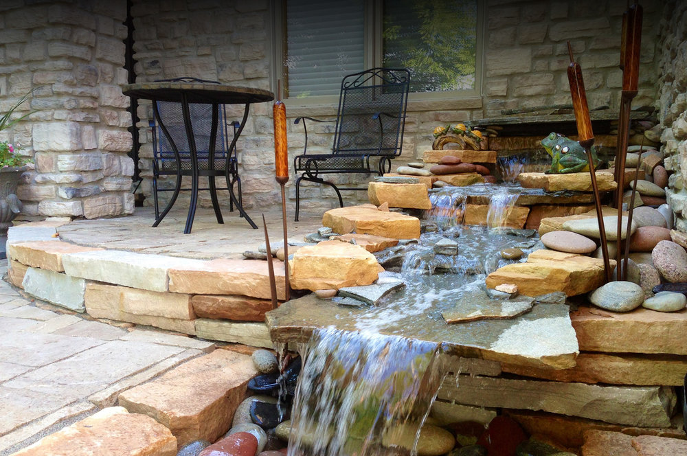 Waterfall Patio
