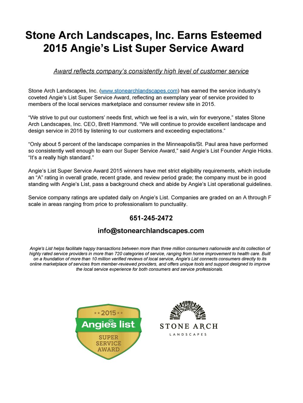 StoneArchLandscapes_AngiesList_SuperServicePressRelease_Page_1