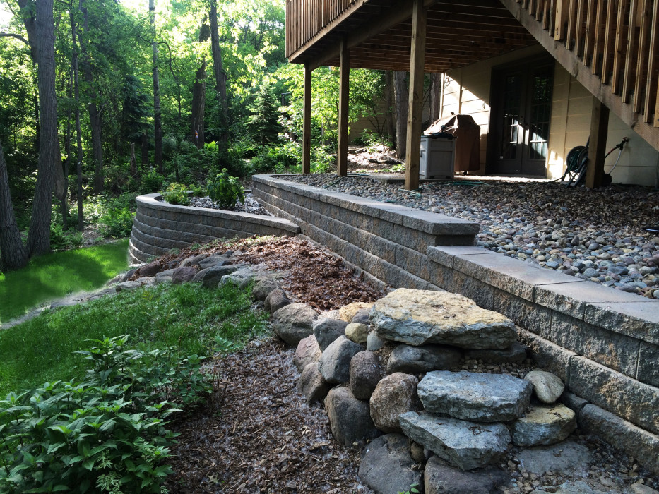Eagan Retaining Wall -