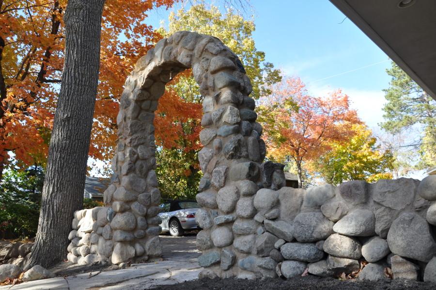 Custom Stone Arch -