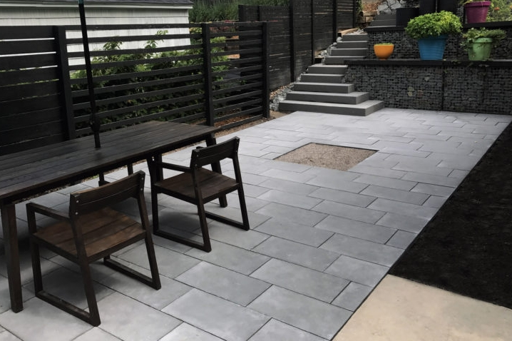 Baltic Bluestone Patio & Staircase