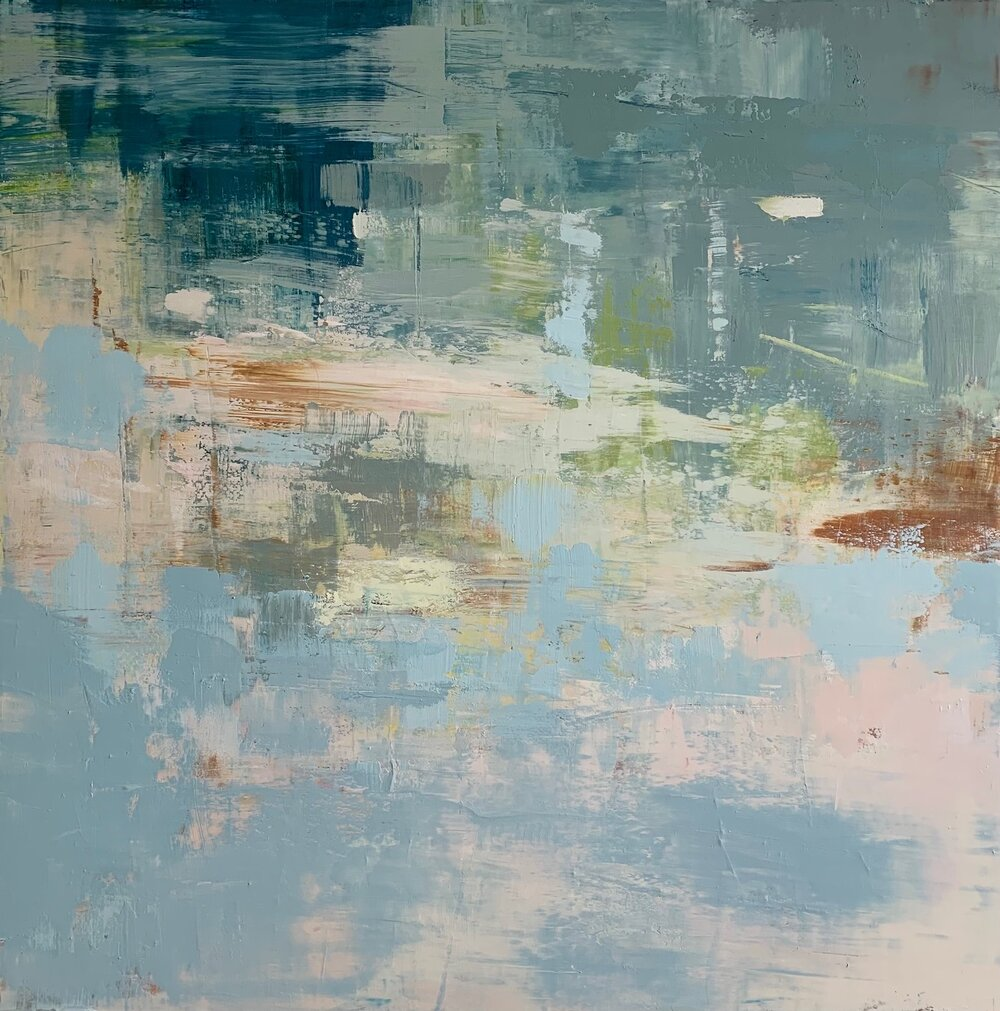 "McGregor Bay Reflection 36""x 60""  $4200"