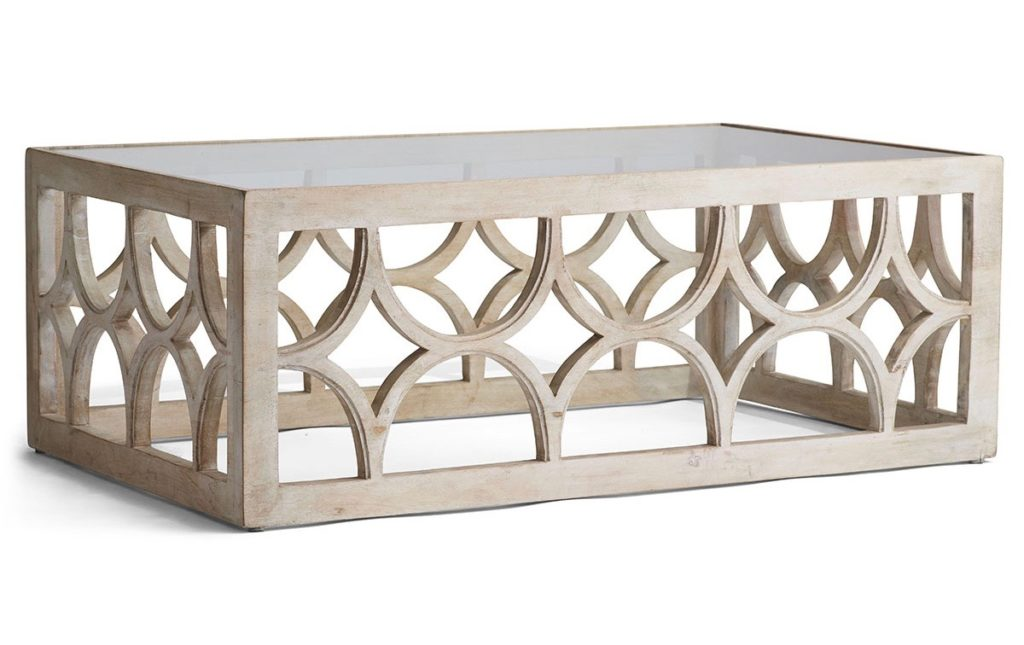 Friday Five Wisteria Limewash Coffee Table