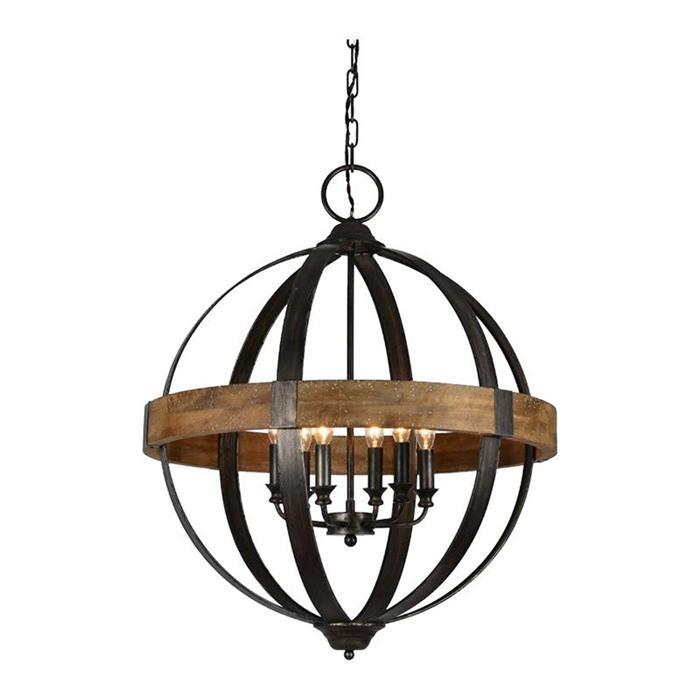 bristol chandelier, rustic pendants
