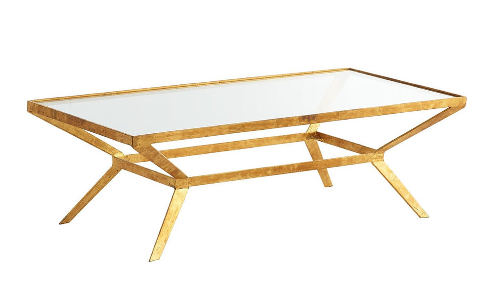 Friday Five Gilt Coffee Table