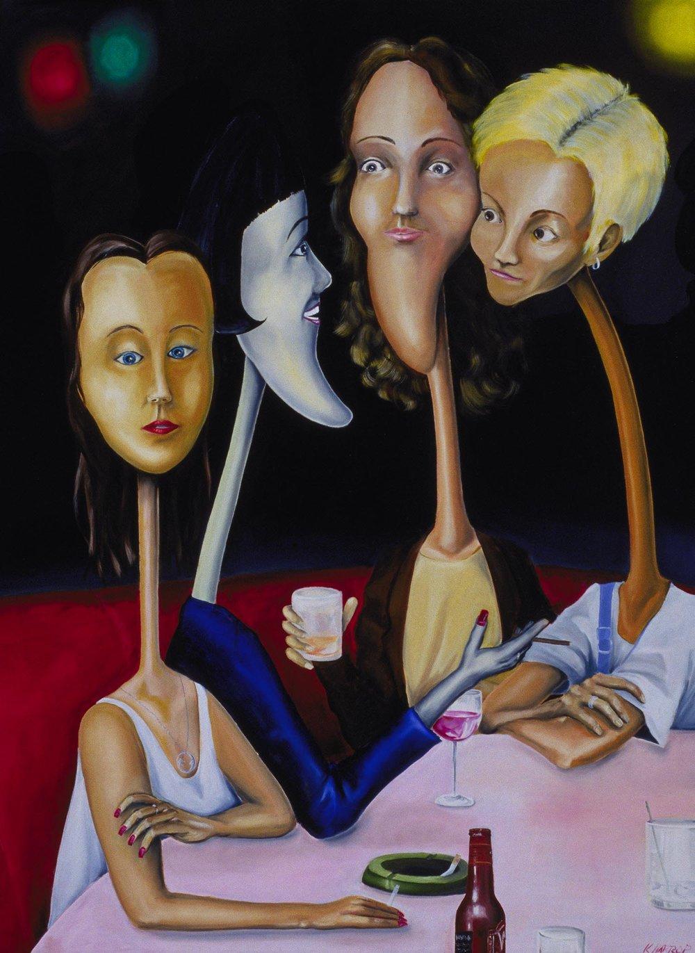 Waited So Long - Title: 'Waited So Long'Medium: Oil on canvas - Framed (Black)Size: 36