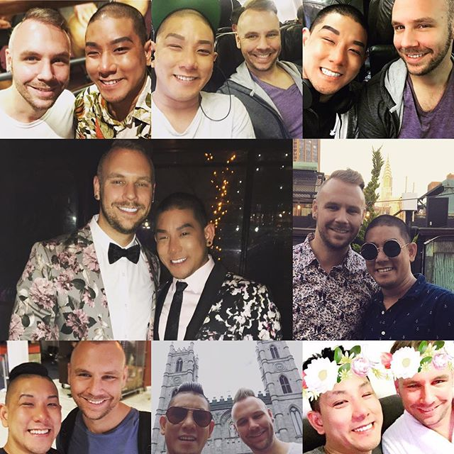 I'm definitely NOT a person who celebrates Valentines but I am going to say this... we've got TONS of adventures to come! Love you @chriskoene!  #boyfriends #queer #koeneluah