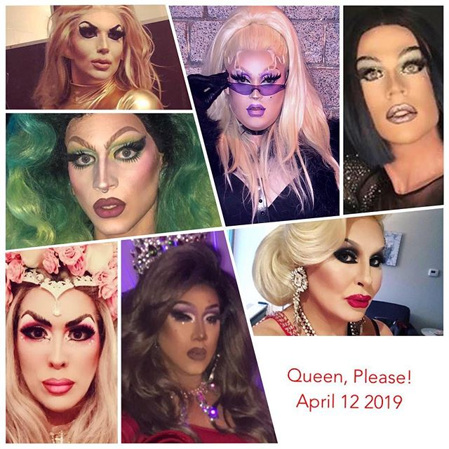 Tonight I have the utmost pleasure of hosting Queen, Please! for Vancouver's drag legend @joane28drag ! She's currently out of town so I'm gonna take over this night and put my spark in the show! . My special guests tonight are... The Most glamours and beautiful performers in the city known for her legendary looks, the amazing @jaylenetyme is in the show! The second special guest is a dear sister and best friend of mine, the master of characters, @mina.mercury is also in the house! . Also not to mention our spotlight performances by by two granddaughters @envyherdoe and @queenpersiankitty with an appearance from Vancouver's Muscle Queen @businessnadya and my daughter with crazy makeup skills @evascarlettxo !! . It all goes down tonight at @thejunctionpub at 10:45 PM!  Cover $5.00 Doors at 9 PM .  #vancouver #vancity #yvr #bc #siennablaze #empressXLV #empress45 #dragqueen #drag #queer #gay #lgbtq2a #lgbtq #westend #westendbia #daviestreet #davievillage #canadian #rpdr #pride #makeup #followme #qwerrkout  #werrrk